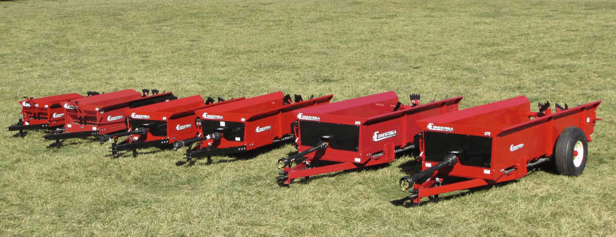 Compact Manure Spreaders