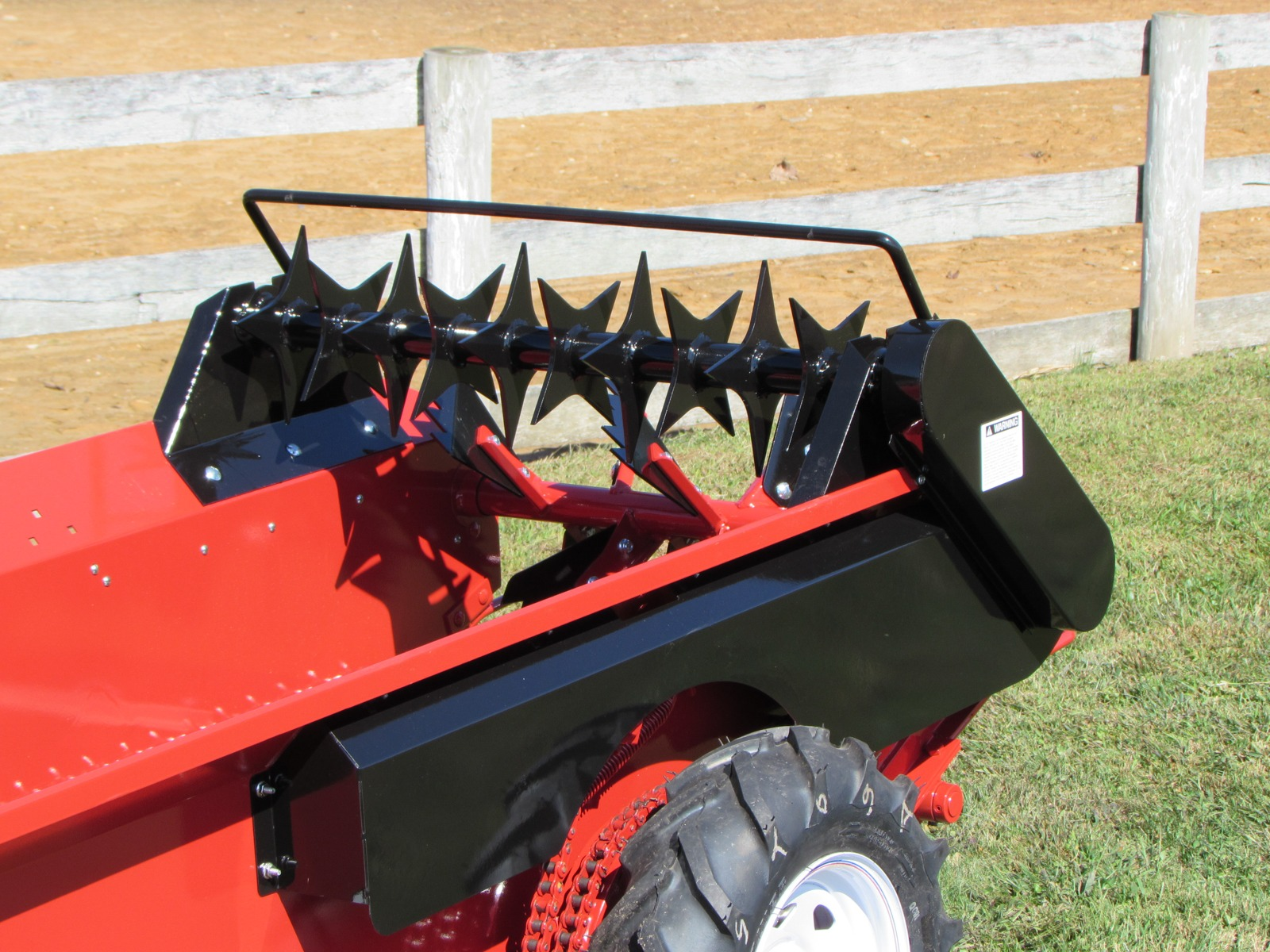 conestoga manure spreader cm 25 ground drive manure spreader optional features top beater