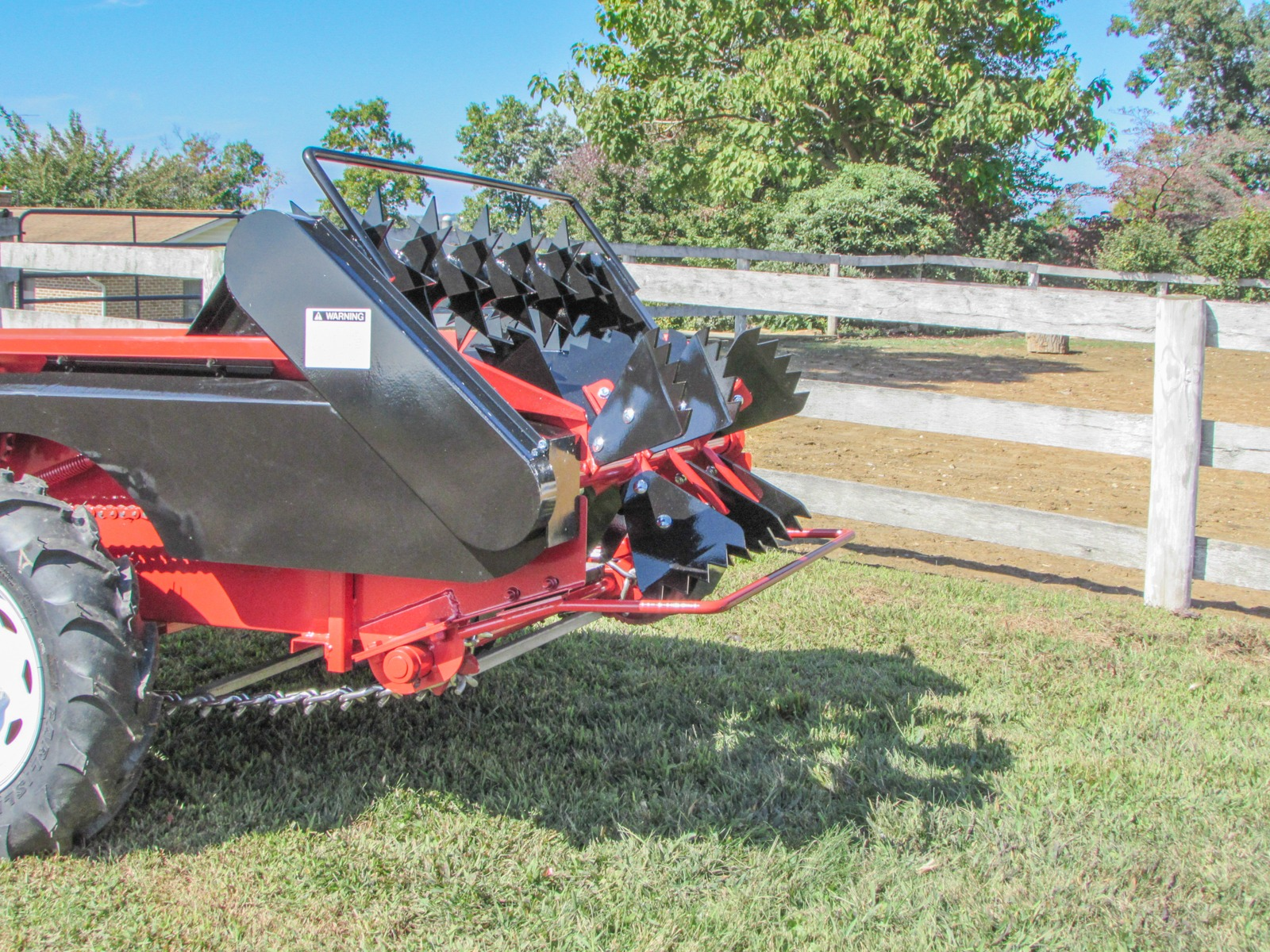 ground driven manure spreader highlight pulverizer bar