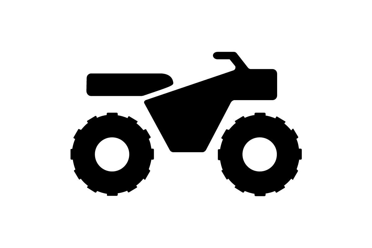 atv manure spreader hauling