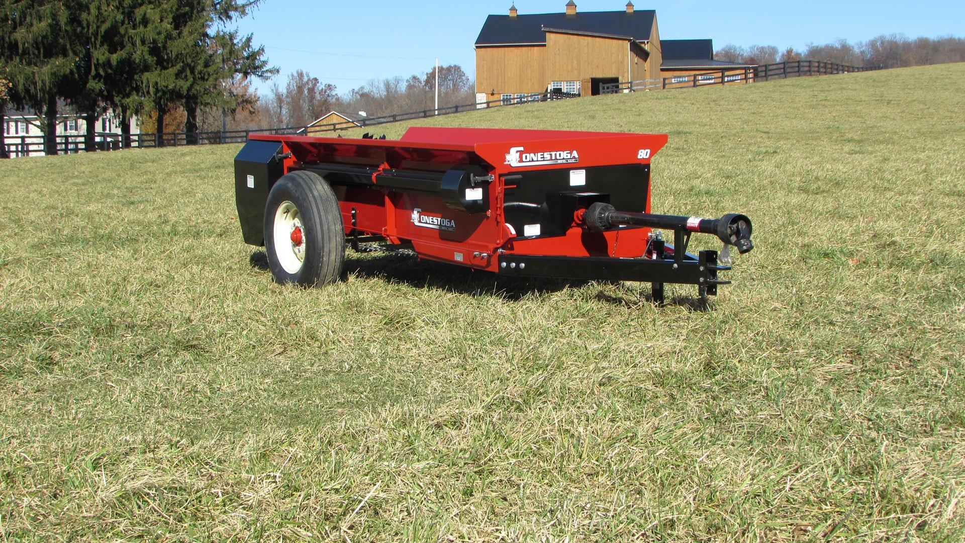 pto drive manure spreader horse manure spreader conestoga manufacturing