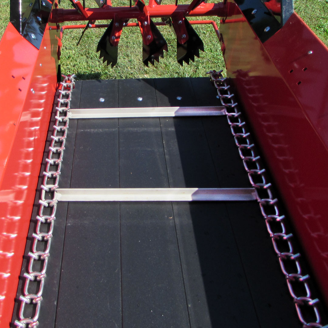 stainless steel apron chain conestoga ground driven manure spreader