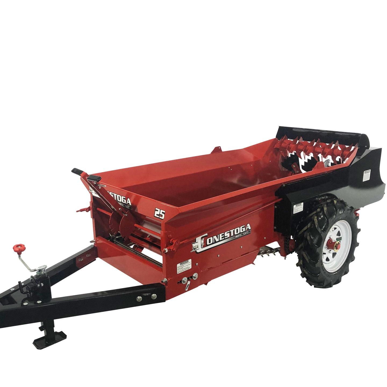atv manure spreader adjustable spreading thickness