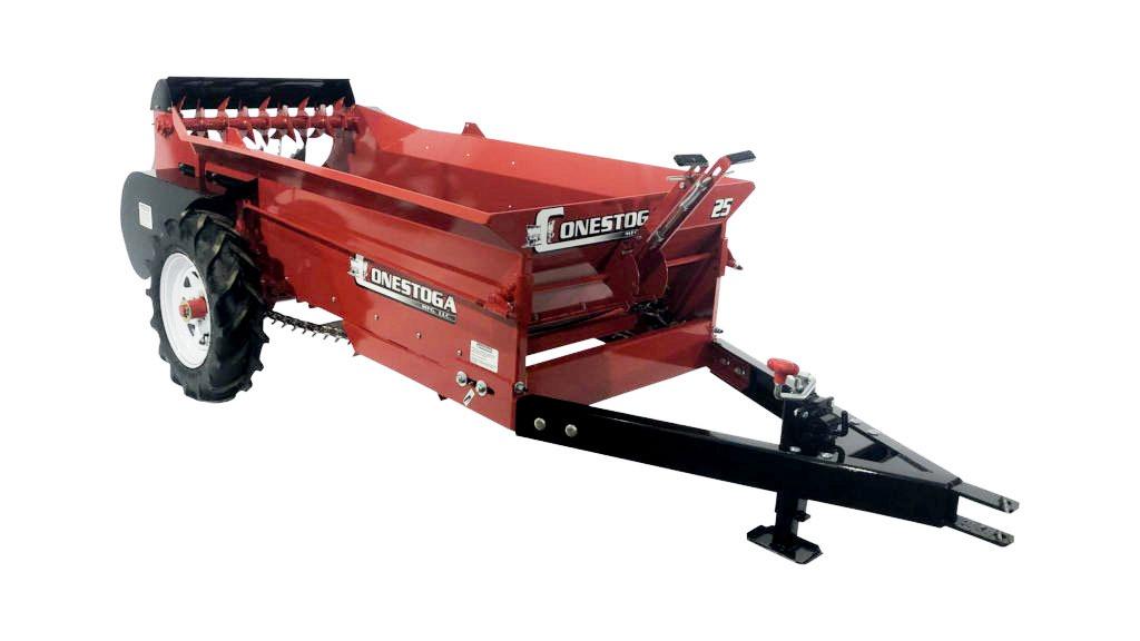 atv manure spreader ground driven manure spreader