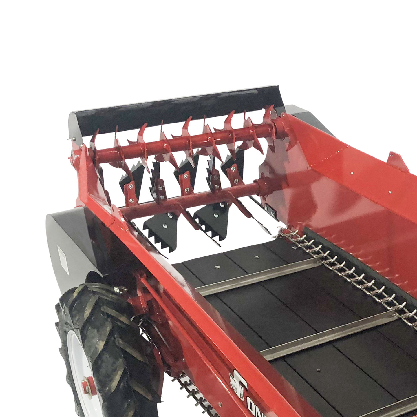 atv manure spreader rooster comb paddle beaters with top beaters