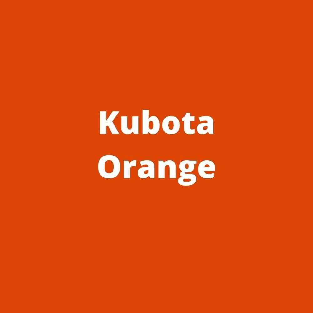 compact manure spreader color orange