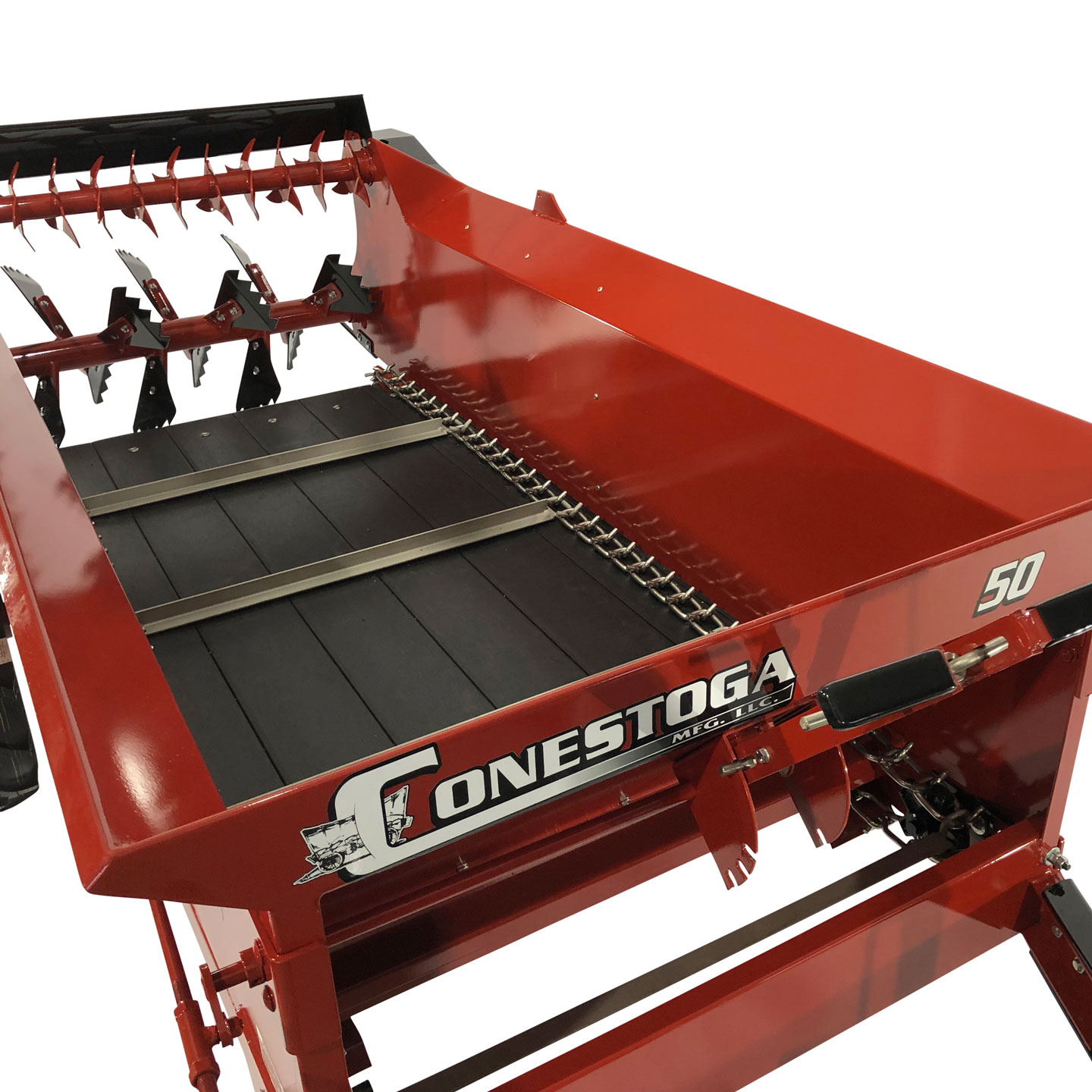 compact manure spreader stainless steel apron chain