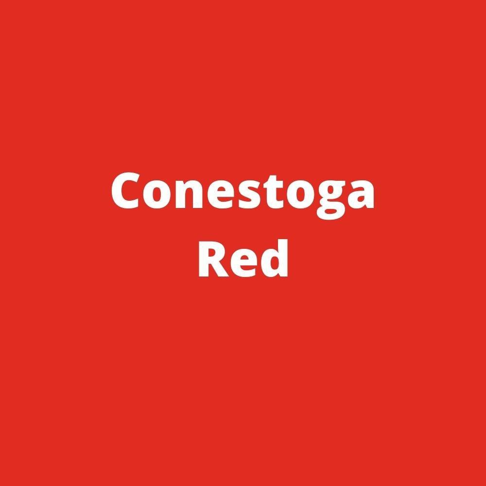 pto manure spreader color red