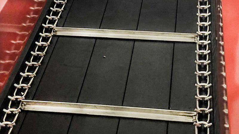 pto manure spreader stainless steel apron chain