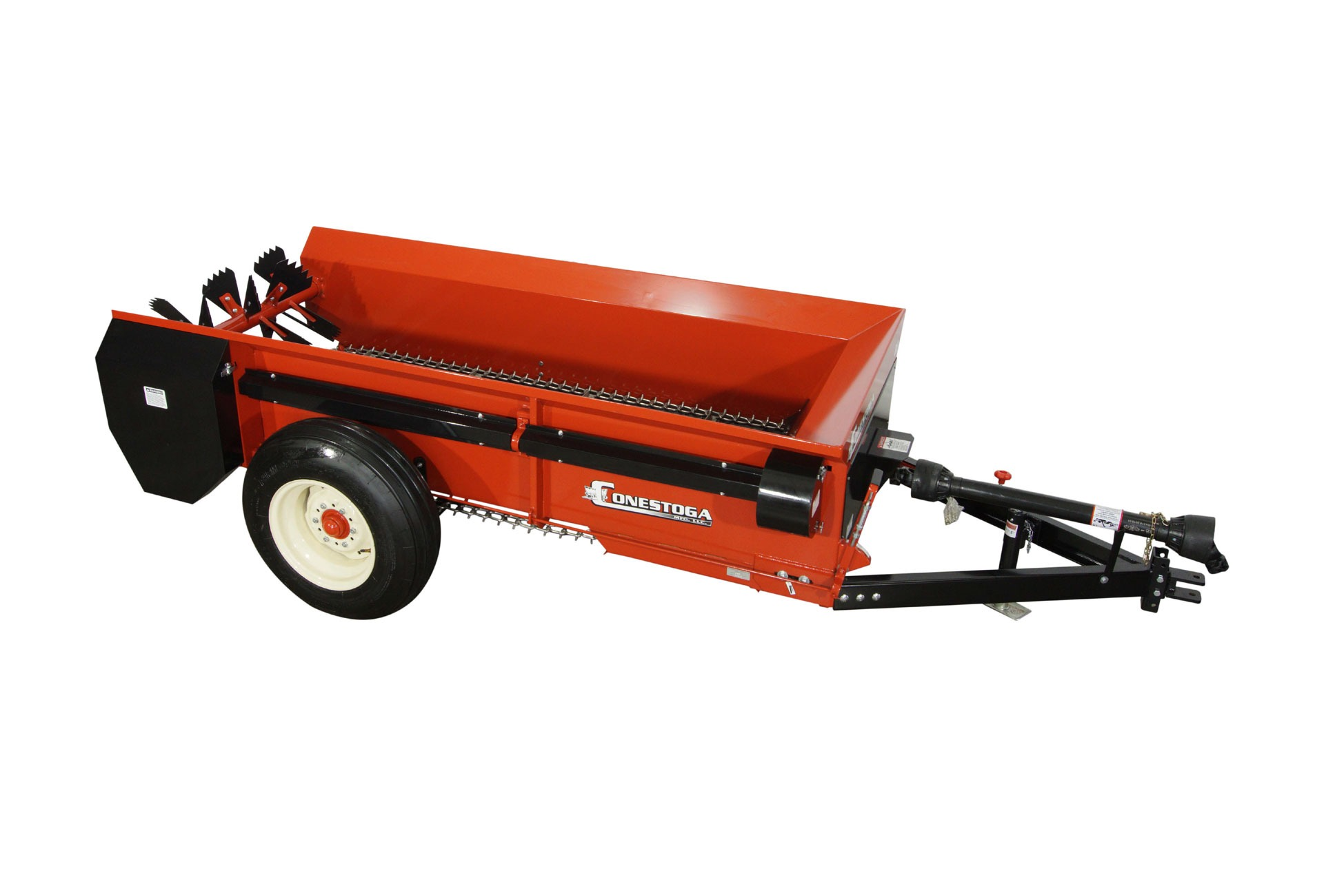 PTO tow behind manure spreader from conestoga manure spreaders, shop image.
