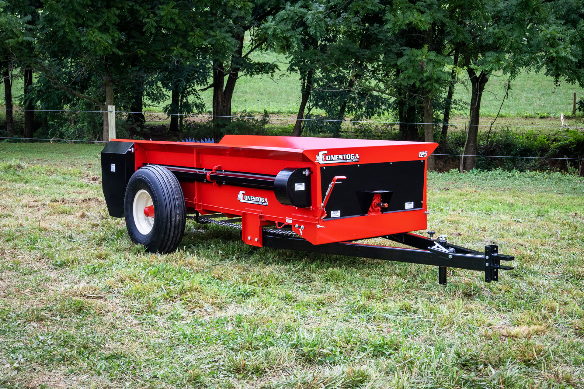 PTO tow behind manure spreader from conestoga manure spreaders.