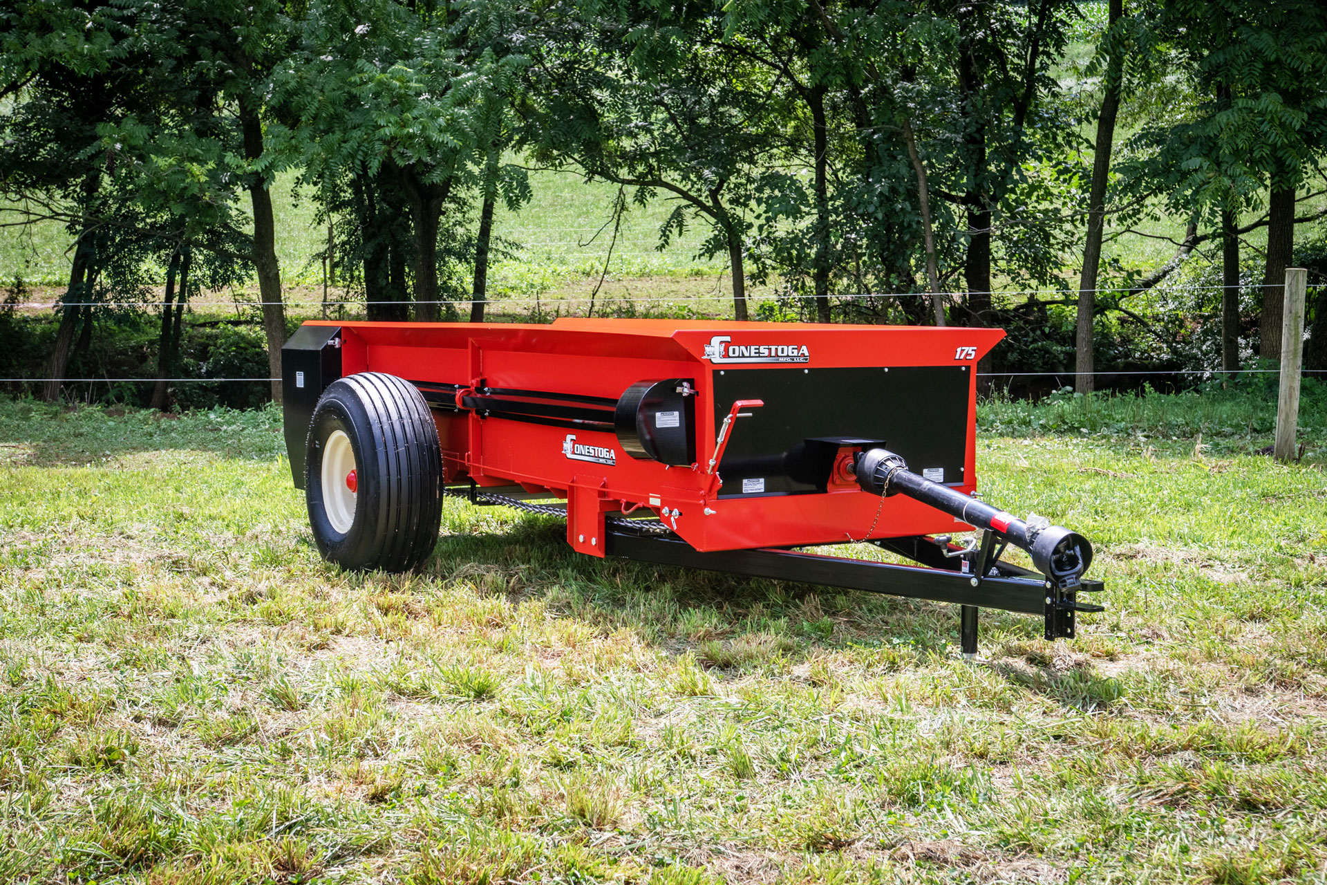 PTO large farm manure spreader by conestoga manure spreaders.