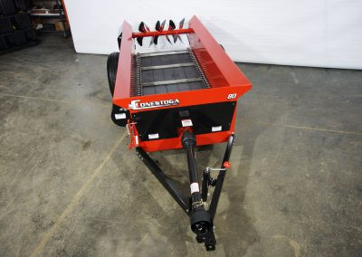 80 cubic foot Horse Manure Spreader with PTO drive.
